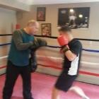 Boxing at Golden Gloves