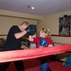 Children's boxing class