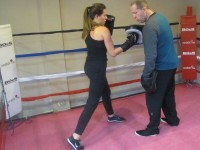 woman,female,boxing,class